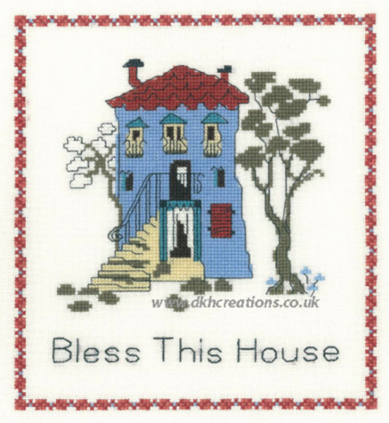 Bless This House Cross Stitch Kit